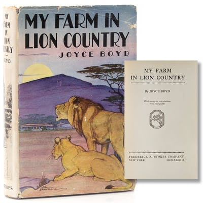 My Farm in Lion Country Boyd, Joyce History, Travel & Geography,Social Thought