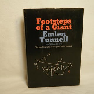 Footsteps of a Giant: the Autobiography of the Great Giant Halfback Tunnell