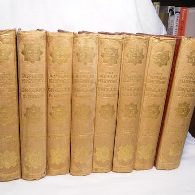 The Popular History of England (8 Volume Set) Knight, Charles