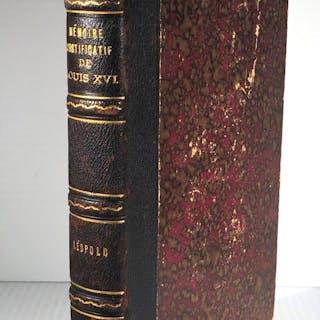 Mémoire justificatif de Louis XVI (16) Léopold