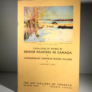 Catalogue of Works by Senior Painters in Canada