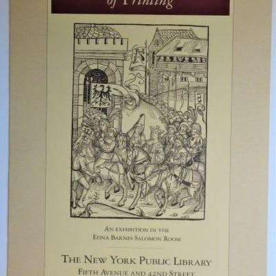 Exhibition Poster: THE FIRST FIFTY YEARS OF PRINTING; an...