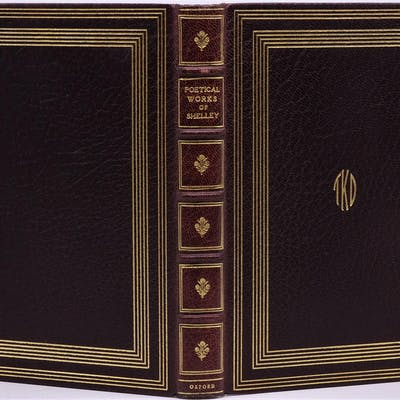 Binding, Fine ) The Complete Poetical Works of Percy...