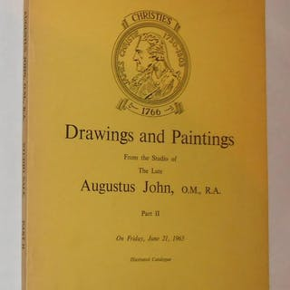 Drawings and Paintings From the Studio of the Late...