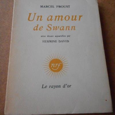 Un amour de Swann - Avec douze aquarelles par Hermine...