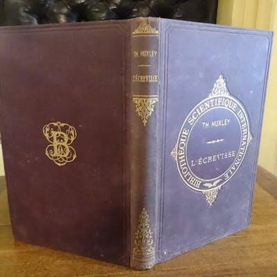L'écrevisse. Introduction à l'étude de la zoologie. Huxley, Th.- H. sciences