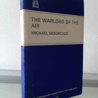 The Warload Of The Air Michael Moorcock Science Fiction & Fantasy