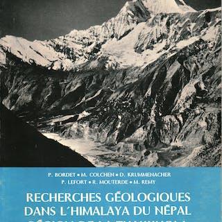 Recherches gà ologiques dans l'Himalaya du Nà pal