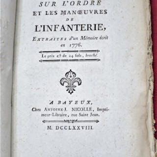 Réflexions sur l'Ordre et les Manoeuvres de l'Infanterie...