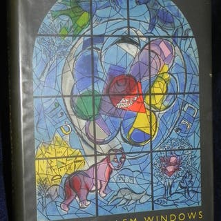 Jerusalem Windows by Marc Chagall Verve 1962 1st Edition...