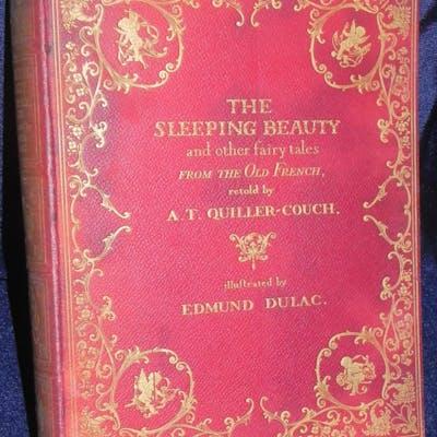 Sleeping Beauty EDMUND DULAC 1910 1st ed 30 Plates   The...