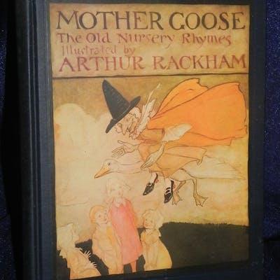 Mother Goose ill by ARTHUR RACKHAM 1913 1st ed   The Golden Age of Illustration