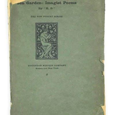 Sea Garden: Imagist Poems H. D. [Hilda Doolittle] Poetry