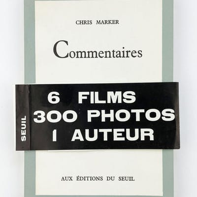Commentaires Marker, Chris Art,Artists' Books,Film