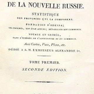 Essai sur l'histoire ancienne et moderne de la Nouvelle RUSSIE