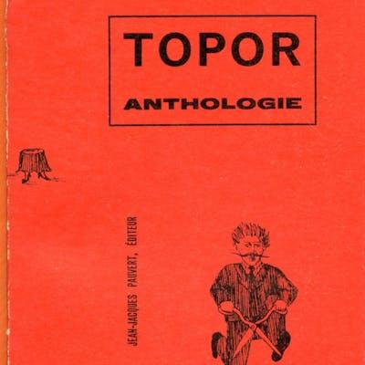 Topor anthologie Topor Illustrateurs,Typographie Art du livre