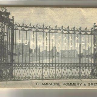 pochette de 15 cartes postales champagne Pommery Greno