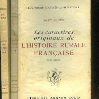 LES CARACTERES ORIGINAUX DE L HISTOIRE RURALE FRANCAISE...