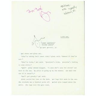 Ginny Sweethips' Flying Circus [Original Typescript] Barrett