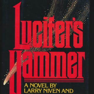 Lucifer's Hammer SIGNED x 2 Larry Niven / Jerry Pournelle