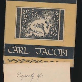 Revelatios in Black w/SIGNED plate Carl Jacobi