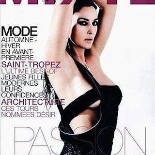 MIXTE Magazine 57 August 2008 Monica Bellucci KYLIE BAX...