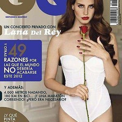 GQ Spain Spanish Magazine 2012 LANA DEL REY Joseph Gordon...