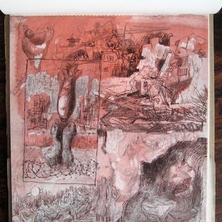 Shelter Sketch Book Henry MOORE
