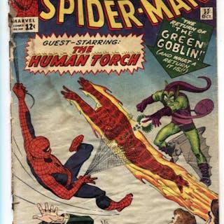 Amazing Spider-Man #17 1964-2nd Green Goblin-Human...
