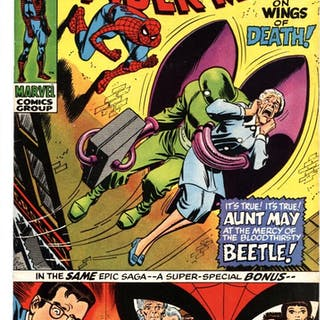AMAZING SPIDER-MAN #94 Marvel - Origin - 1971 - VF...