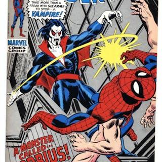 Amazing Spider-Man #101-comic book 1st Vampire Morbius...