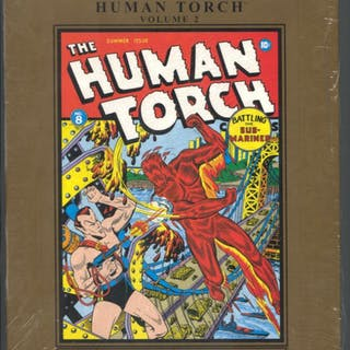 Marvel Masterworks Golden Age Human Torch Vol 2   COMICS - Comic Hardbacks