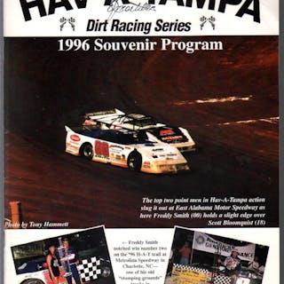 Hav-A-Tampa Dirt Racing Series Souvenir Race Program...