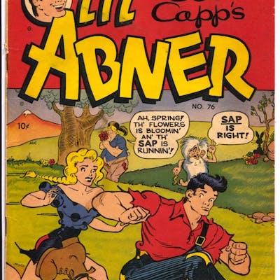 Li'l Abner #76 1950-Toby-Al Capp-Daisy Mae-VG   COMICS - Golden-Age - Humor
