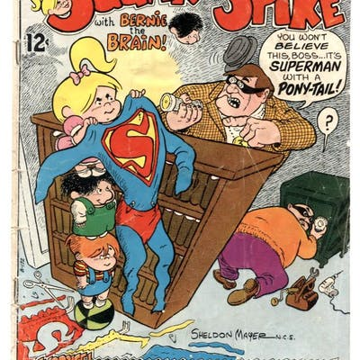 Sugar and Spike #83 1969- DC Comics- Sheldon Mayer VG   COMICS - Silver-Age - DC