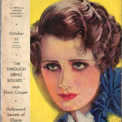 Photoplay 10/1932-Kay Francis-Earl Christy-Irene...