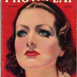 Photoplay 11/1932-Joan Crawford-Earl Christy-Clara...