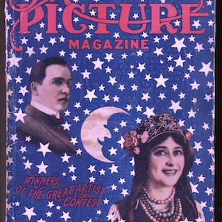 Motion Picture Magazine 10/1914-Indian motorcycle...