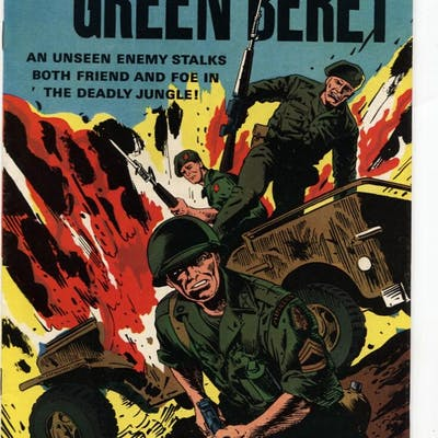 Tales Of The Green Beret #4 1967-Dell-Viet Nam-special...