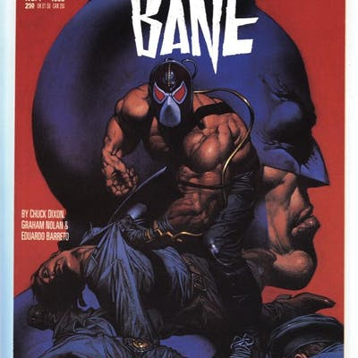 Vengeance of Bane #1 Batman comic book 1993 High Grade...