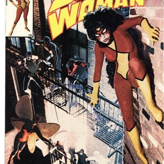 Spider-woman #50 NEWSSTAND VARIANT Last issue Marvel NM...