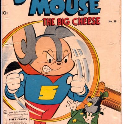 Super Mouse #38 1957-Pines-Gene Fawcette art-VG   COMICS - Silver-Age - Other