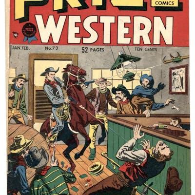 Prize Comics Western #73-1949-Bill Elder- Golden Age VG+...