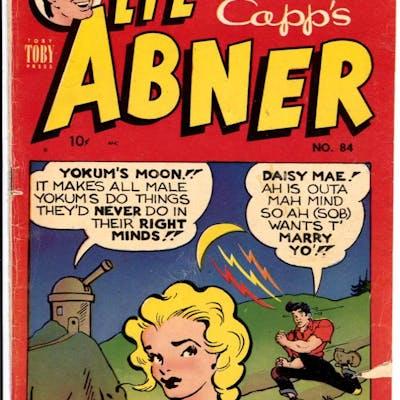 Li'l Abner #84 1951-Toby-Al Capp-Daisy Mae-VG-   COMICS - Golden-Age - Humor
