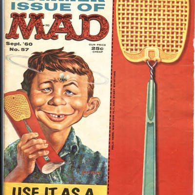 MAD #57-ALFRED E NEUMAN Summer Special 1960 EC   COMICS...