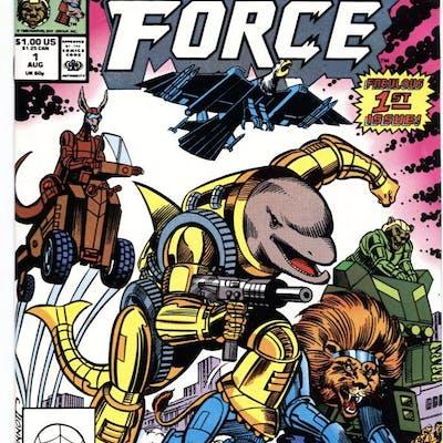 Brute Force #1 1990 1st appearance Marvel NM-   COMICS...