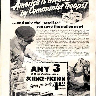 FANTASTIC UNIVERSE SCIENCE FICTION-Oct 1956-Pulp-HANNES...