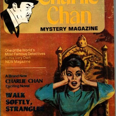 CHARLIE CHAN PULP MAGAZINE-Nov 1973-CRIME & DETECTIVE...