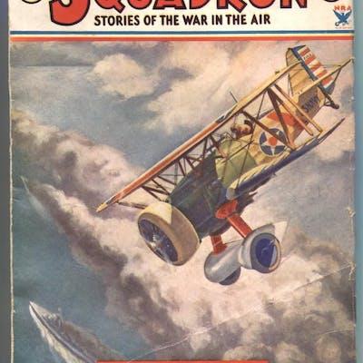 George Bruce's Squadron Pulp May 1934-Goshawk F-112 FN...