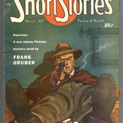 Short Stories Pulp 3/10/49- Leather Duke Frank Gruber...